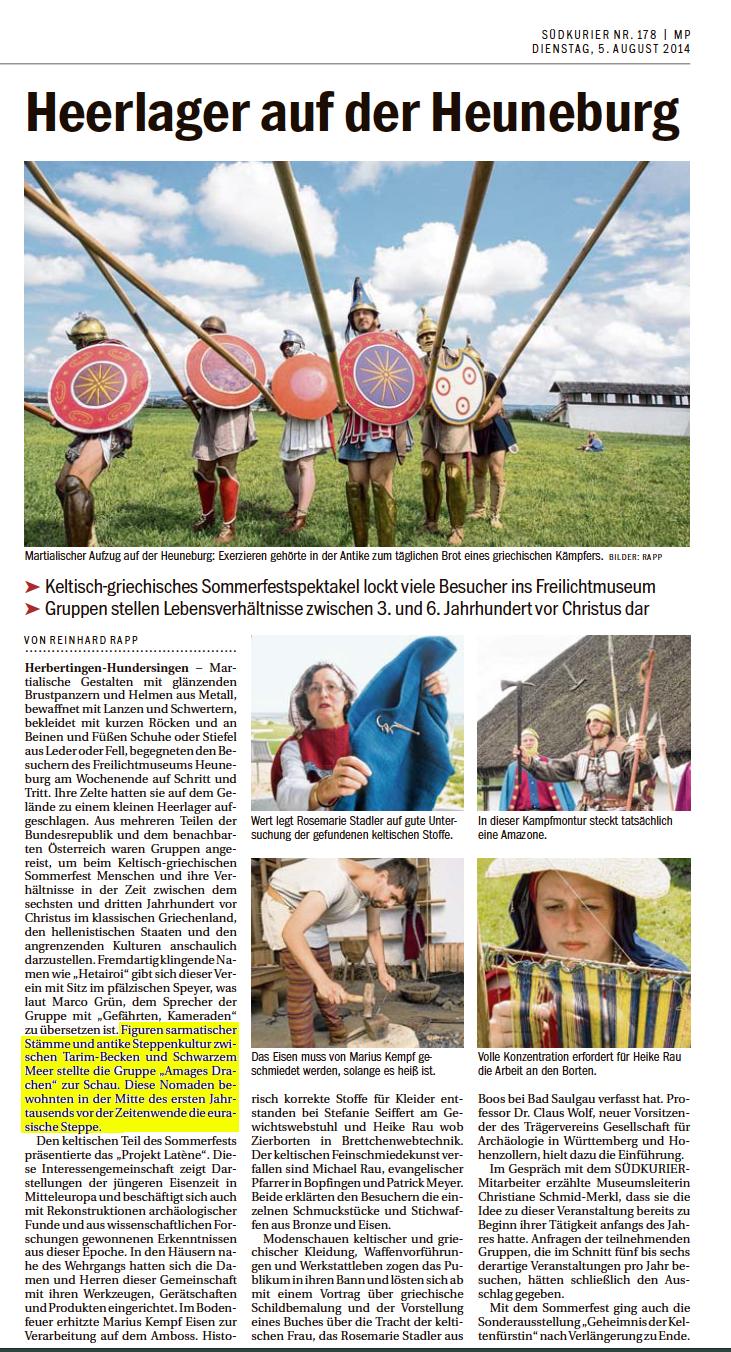 Keltenfest Heuneburg