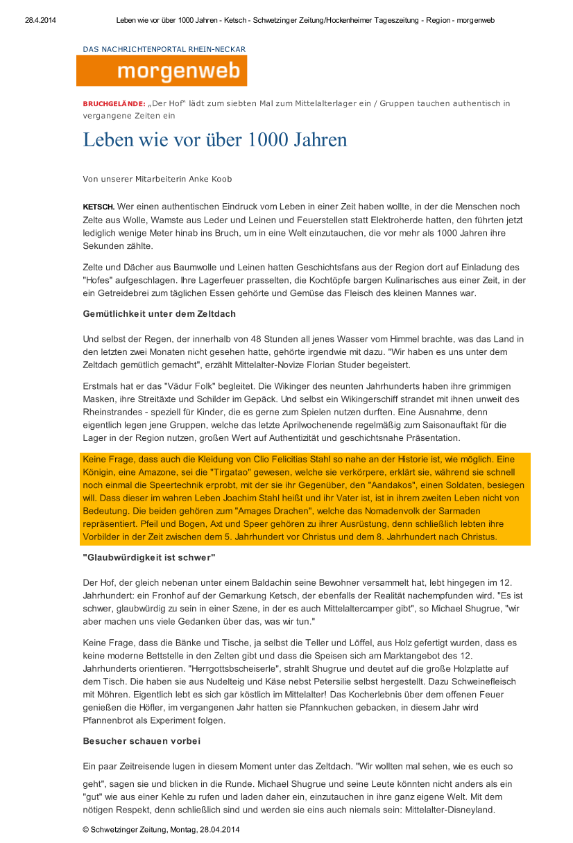 Schwetzinger Zeitung_2014-04-28