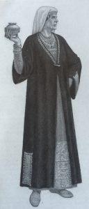 Sarmatische Priesterin-Rekonstruktion
